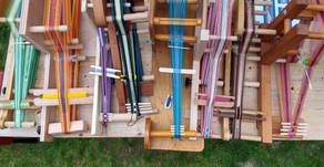 Beginner workshop weaving