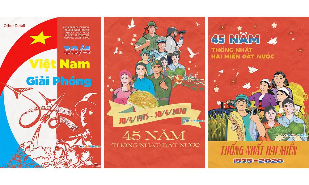 Băng Rôn Giải Phóng Miền Nam 30-4 Và Quốc Tế Lao Động 1-5