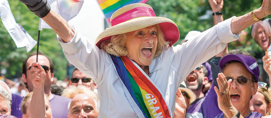 "EDIE WINDSOR ~ ""Until All Things Are Equal For Everyone, The Battle Is Not Done!"""
