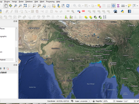 Add useful base map imageries to QGIS easily