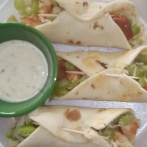 Buffalo Chicken Street Tacos