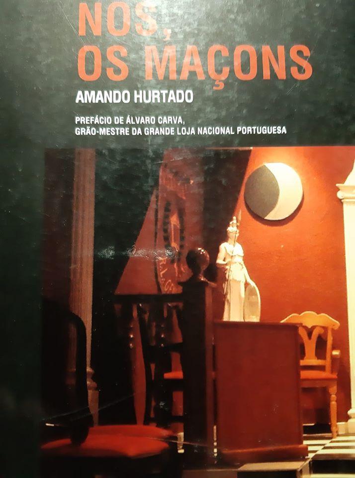 """Livro """"Nós, os Maçons"""" de Amando Hurtado"""