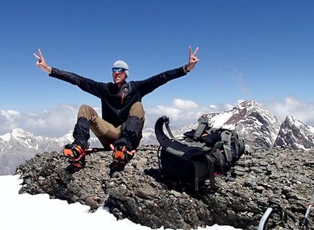 Pik Zamok (Peak Zamok), 5.070 m