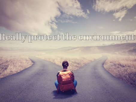 Really protect the environment 〜本当に環境を守ることの意味〜