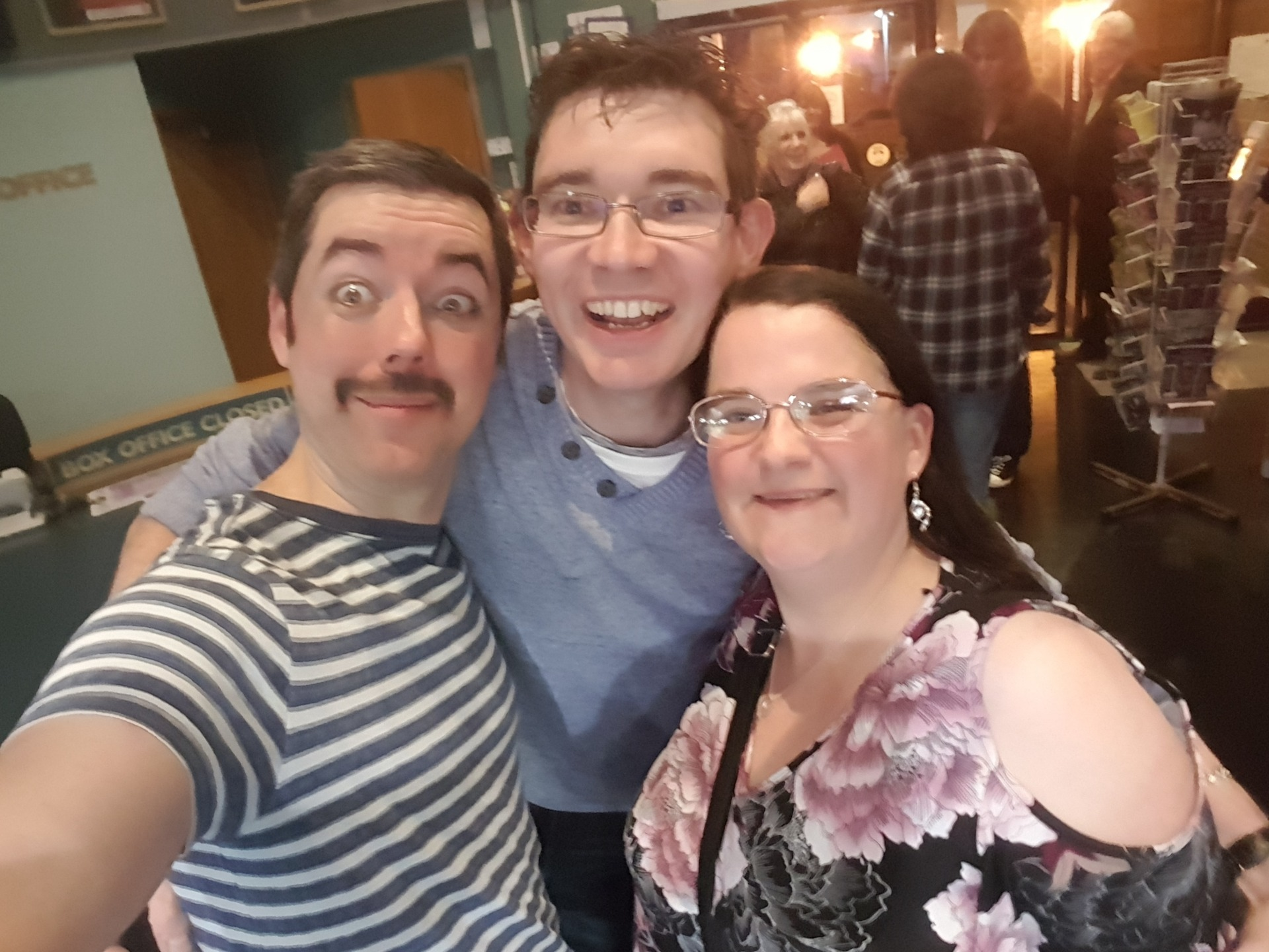 Seth Daniels - Freddie Mercury from Queen Tribute Majesty with me and Dale