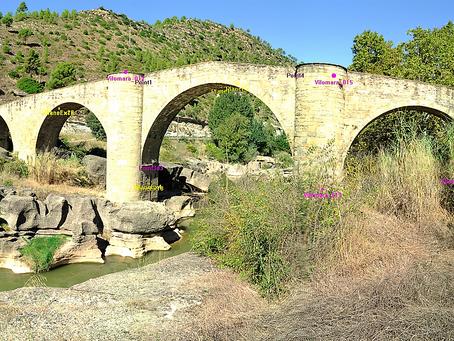 ScanPhase escanea y digitaliza el puente gótico de Vilomara de origen romano