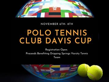 POLO DAVIS CUP NOV 6th - 8th