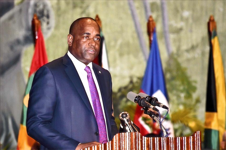 Dominica's Prime Minister Hon. Roosevelt Skerrit