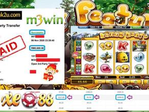 Bonus Bear slot game tips to win RM2680 in XE88