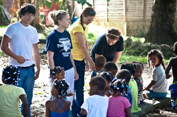 Church Missions Trips help your kids to see the world through other people's eyes