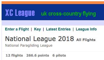 XC League opens 15th Feb 2018