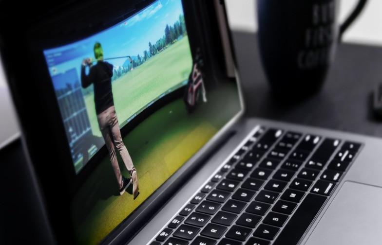 screen golf system