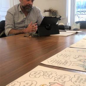 Interview : Hubert Maury, illustrateur et maintenant enseignant !