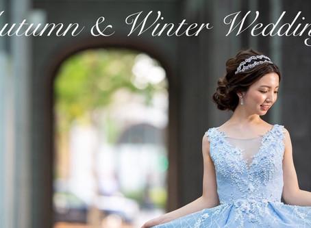 秋冬挙式の花嫁様へ♡