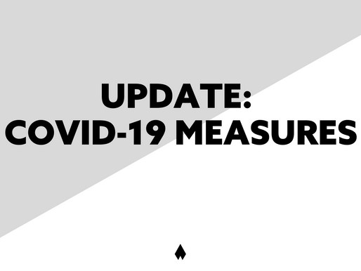 Update: New government measures