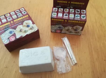 Mes enfants ont testé le Kit Géologie : Roches et Minéraux