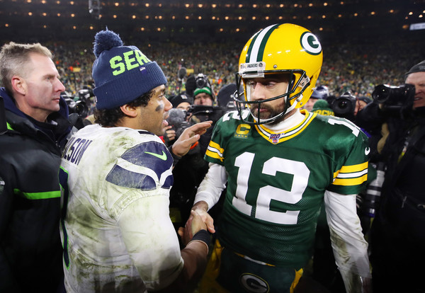 Aaron Rodgers Russell Wilson NFL