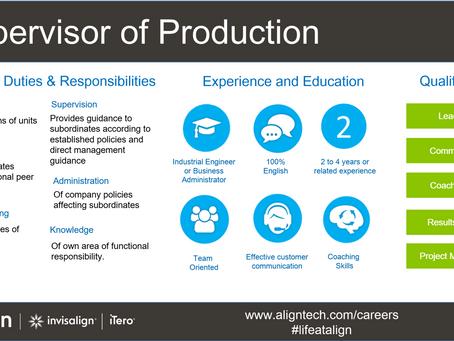 Align is hiring / Align está contratando