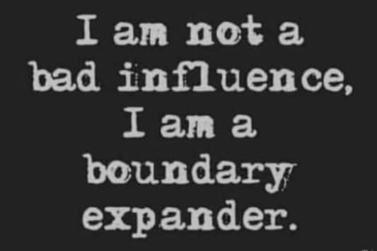 I am not a bad influence, I am a boundary expander Meme & Many More Funny Memes