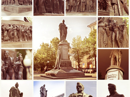 Памятник А.С.Грибоедову на Чистых прудах