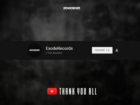 2000 Subscribers on Youtube Channel