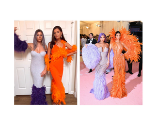 How I recreated Kendall and Kylie's MET Gala looks