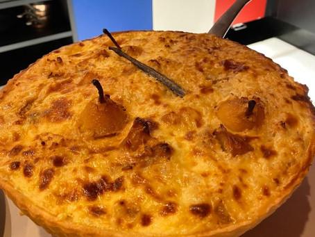 Torta de Arroz com Maçã e Peras Caramelizadas com Baunilha - por Chef Erick Jacquin