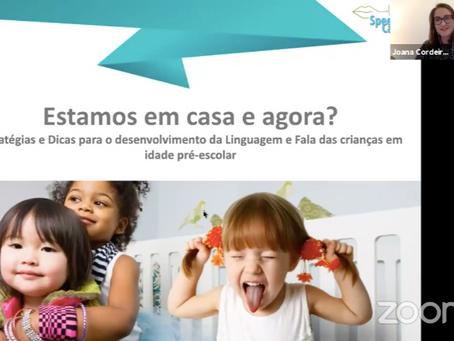 Estratégias e dicas para o desenvolvimento da Linguagem e Fala em crianças em idade pré-escolar