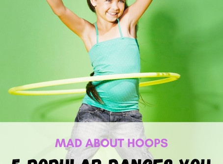 5 Popular dances you can do with a hula hoop!