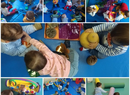Los más peques de la Escuela  disfrutan con la multitud de actividades que realizamos
