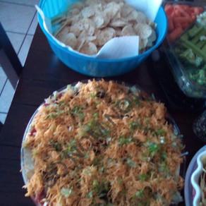 Taco Layer Dip (No Bean)
