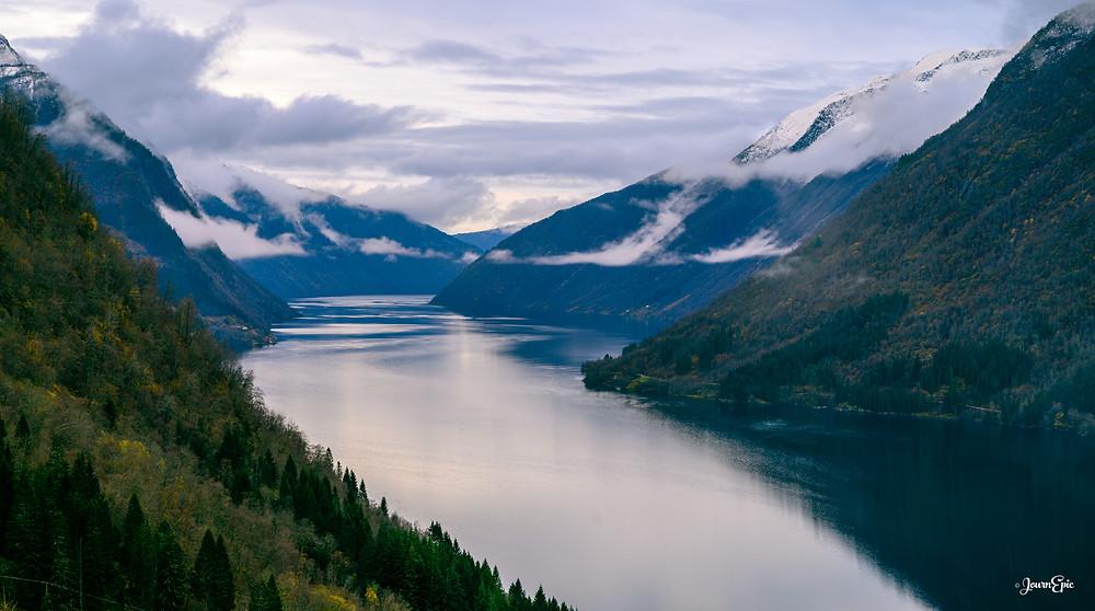 Fjærlandsfjorden, Norway, Norwegian fjords, Norwegian landscape, Travel to Norway, Things to visit in Norway