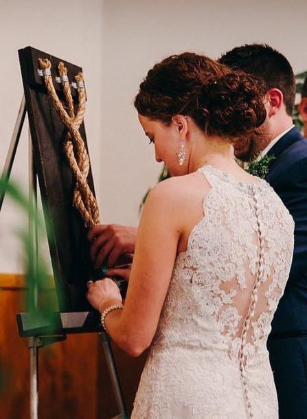 Esküvői kötélceremónia