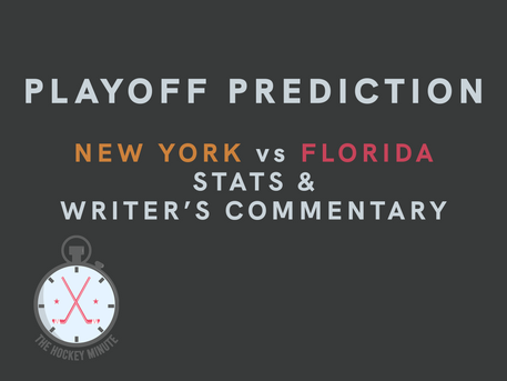 New York Islanders vs Florida Panthers - stats & writer's commentary