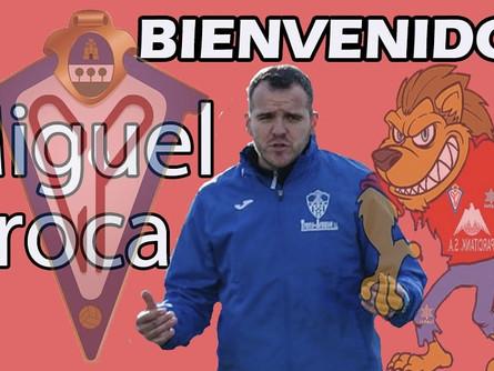 Miguel Aroca llega para ser el segundo de Eduardo Pérez Morán