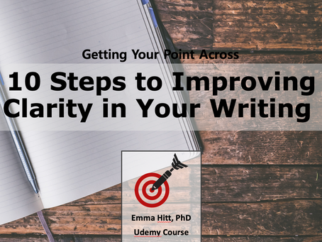 Getting Your Point Across in Writing: The Course