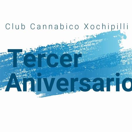 Club Cannabico Xochipilli 3° Año!!