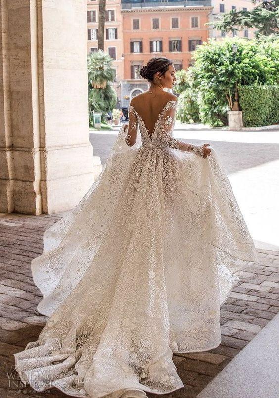 vestidos de novia y su evolución a través del tiempo