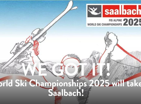 Saalbach awarded 2025 FIS Alpine World Ski Championships