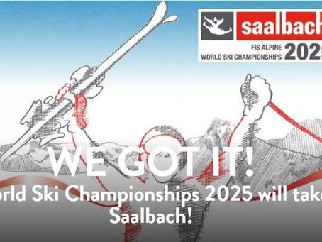 Saalbach awarded 2025 FIS Alpine World Ski Championships