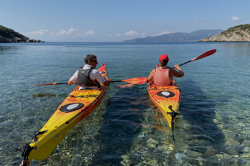 Kayaking in the Peloponnese