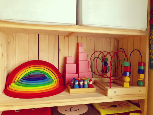 Lifestyle: Grimm's Wooden Toys.