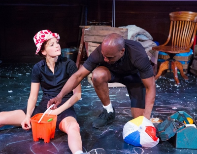 Flora Spencer-Longhurst and Chris Jack in Octagon Theatre Bolton's production of Beryl. c Jonathan Keenan