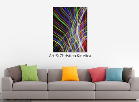 """Art & Quote: """"Imagination is more important..."""" & Colorful Interiors"""