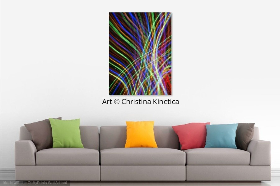 "Art & Quote: ""Imagination is more important..."" & Colorful Interiors"