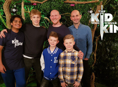 The Kid Who Would Be King – Lyall and Rich meet the stars!
