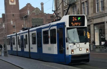 Around the World: Tony Ollivier in Amsterdam