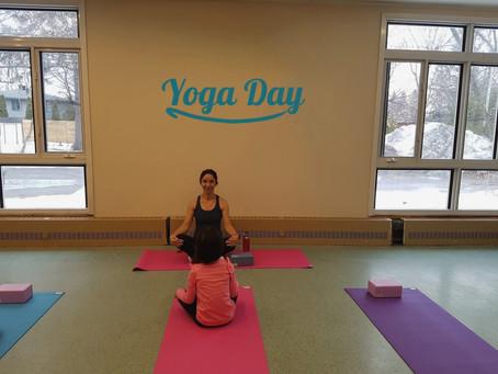 It was a wonderful Yoga session!