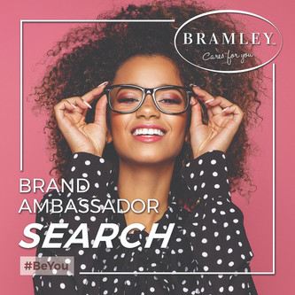 Bramley cosmetics searches for authentic women as ambassadors who really care for you.