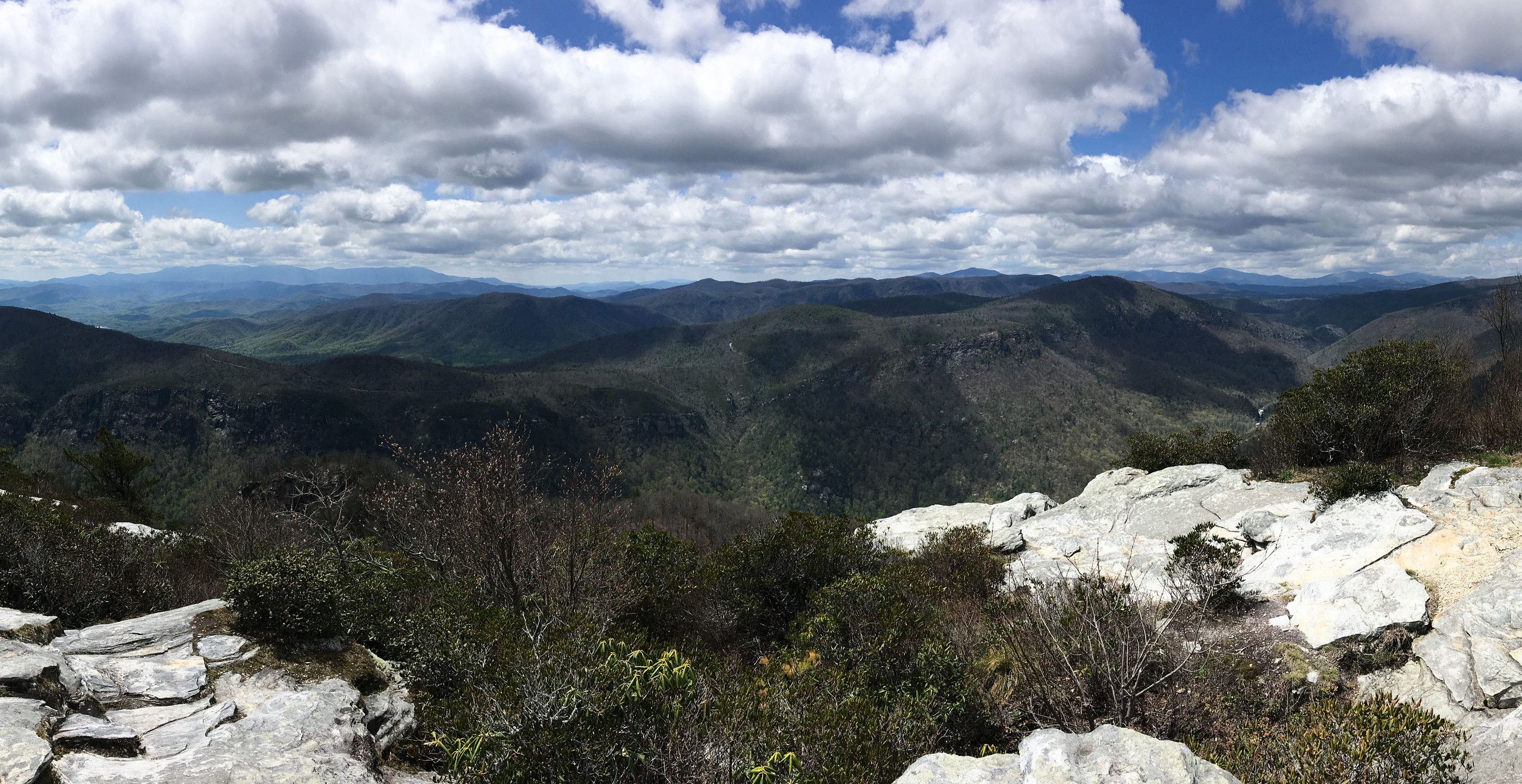 view from Table Rock summit